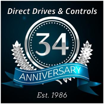 Direct Drives 34 Year Anniversary